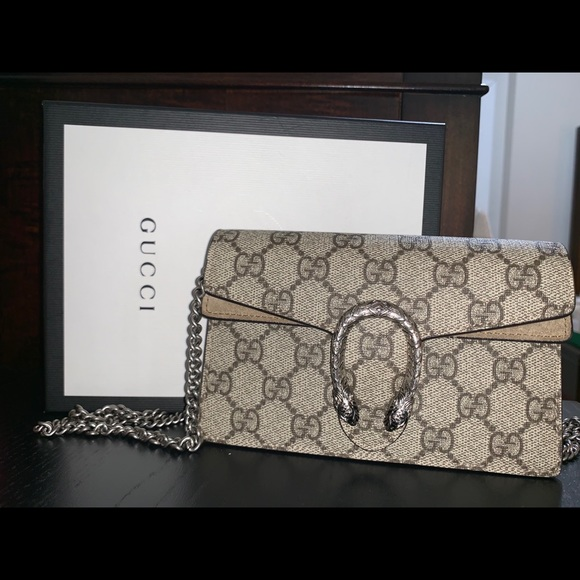 Gucci Handbags - Dionysus GG Supreme super mini bag
